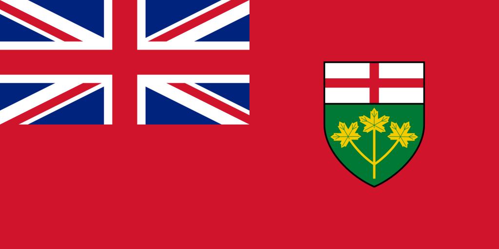 Ontarios Flagga