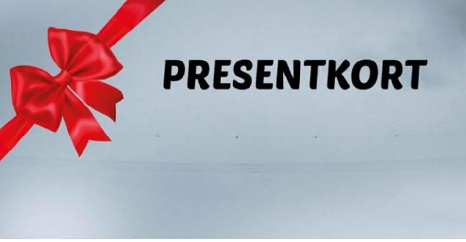 Presentkort for tävling