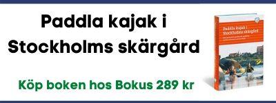 Bok - Paddla kajak i Stockholms skärgård
