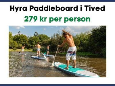 Hyra Paddleboard i Tived
