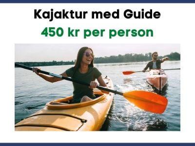 Kajaktur med Guide i Tived