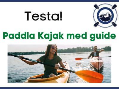 Paddla Kajak med guide