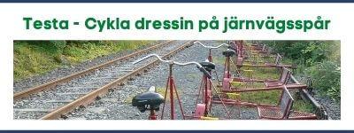 Testa - Cykla dressin på järnvägsspår